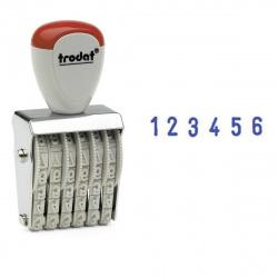 Нумератор ленточный 6-разрядный 27*5мм TRODAT 1556