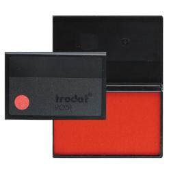 Штемпельная подушка 50*90мм TRODAT 9051 красная