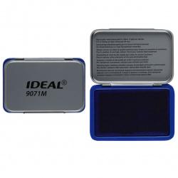 Штемпельная подушка 56*90мм TRODAT IDEAL 9071M металлическая синяя