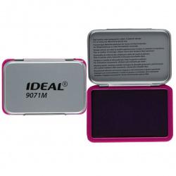 Штемпельная подушка 56*90мм TRODAT IDEAL 9071M металлическая фиолетовая