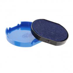 Подушка сменная для печати TRODAT 4630 синяя с ушками
