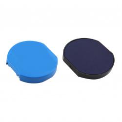 Подушка сменная для печати TRODAT 5215, 5415 синяя с ушками