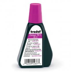 Штемпельная краска 28мл TRODAT 7011 фиолетовая