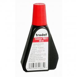 Штемпельная краска 28мл TRODAT 7011 красная