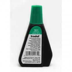 Штемпельная краска 28мл TRODAT 7011 зеленая