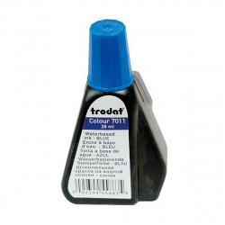 Штемпельная краска 28мл TRODAT 7011 синяя
