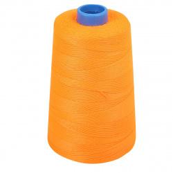 Нить для прошивки документов хлопчатобумажная 1000м 200текс 200гр оранжевая