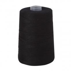 Нить для прошивки документов особопрочная штапельный лавсан 1000м ЛШ 210 черная