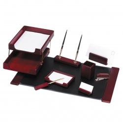 Набор настольный 9 предметов, дерево, цвет красное дерево Good Sunrise 811915