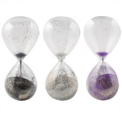 Часы песочные стекло 8*19*8 200367 KLERK ассорти 3 вида