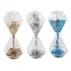 Часы песочные стекло 5,5*12*4,5 200368 KLERK ассорти 3 вида