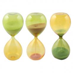 Часы песочные стекло 5*12*5 200369 KLERK ассорти 3 вида