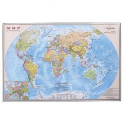 Настольное покрытие 38*59 ДПС Карта мира 2129М
