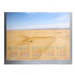 Настольное покрытие 49*65 deVENTE 4101800 ПВХ 300 мкм прозрачный клапан черное