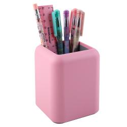 Канцелярский набор 6пр Erich Krause Forte Pastel 53279 розовый с серой вставкой