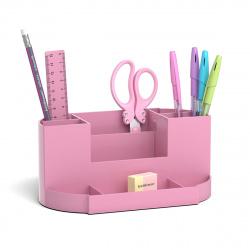 Канцелярский набор 8пр Erich Krause Victoria Pastel 53267 розовый