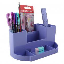 Канцелярский набор 8пр Erich Krause Victoria Pastel 53268 фиолетовый