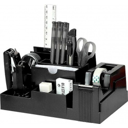 Канцелярский набор 15 предметов, невращающаяся, цвет черный  Ступень Eagle TY330S/чер