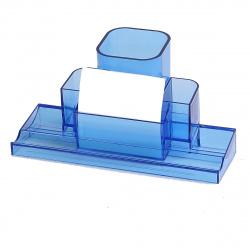 Настольная подставка для канцелярских принадлежностей 4отд deVENTE Tower 4102507 синяя