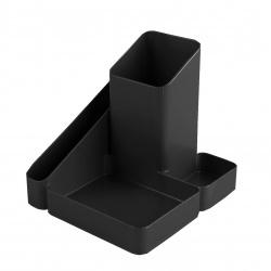 Настольная подставка для канцелярских принадлежностей 4отд Стамм Имидж ОР31 черная