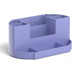 Настольная подставка для канцелярских принадлежностей 9отд Erich Krause Victoria, Pastel 51483 фиолетовый
