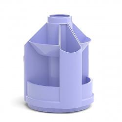 Настольная подставка для канцелярских принадлежностей 10отд Erich Krause Mini Desk Pastel 51472 фиолетовый