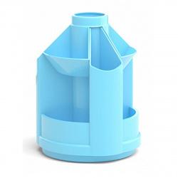 Настольная подставка для канцелярских принадлежностей 10отд Erich Krause Mini Desk Pastel 51471 голубой