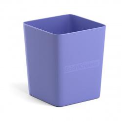 Настольная подставка-стакан для канцелярских принадлежностей Erich Krause Base Pastel 51499 фиолетовый