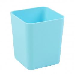 Настольная подставка-стакан для канцелярских принадлежностей Erich Krause Base Pastel 51498 голубая