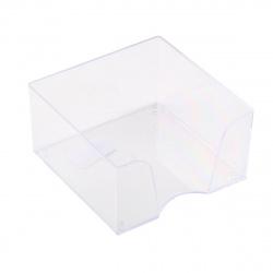 Подставка для блока 9*9*5 Оскол Пласт 3332/19 прозрачная