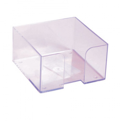 Подставка для блока 9*9*5 Стамм ПЛ61 прозрачная