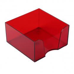 Подставка для блока 9*9*5 Оскол Пласт 3331/15 бордо