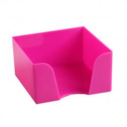 Подставка для блока 9*9*5 Оскол Пласт 3331/15 розовая