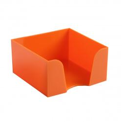 Подставка для блока 9*9*5 Оскол Пласт 3331/15 оранжевая