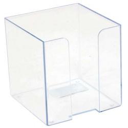 Подставка для блока 9*9*9 Оскол Пласт 3332/14 прозрачная