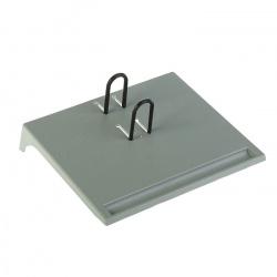 Подставка для календаря   малая, пластик, цвет серый Стамм ПК26