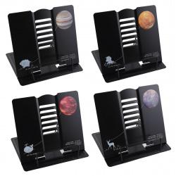 Подставка для книг металлическая KLERK Dream 200270 ассорти 4 вида