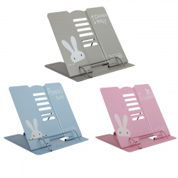 Подставка для книг металлическая 190*210 KLERK MQ Rabbit 208049 ассорти