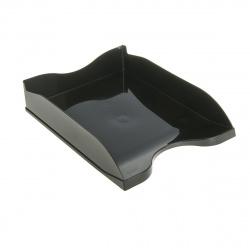 Лоток для бумаг горизонтальный Стамм Люкс ОФ888 черный