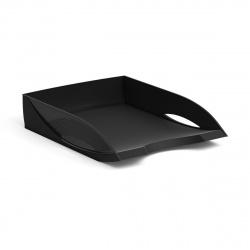 Лоток для бумаг горизонтальный Erich Krause Rainbow 26493 черный