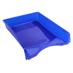 Лоток для бумаг горизонтальный deVENTE Simple 3042502 синий