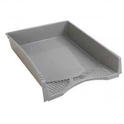 Лоток для бумаг горизонтальный deVENTE Simple 3042500 серый