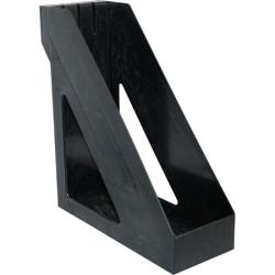 Лоток для бумаг вертикальный Стамм Базис ЛТ32 черный