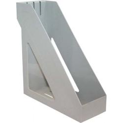 Лоток для бумаг вертикальный Стамм Базис ЛТ31 серый