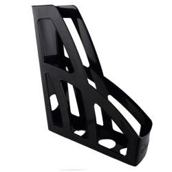Лоток для бумаг вертикальный Стамм Лидер ОФ100 черный