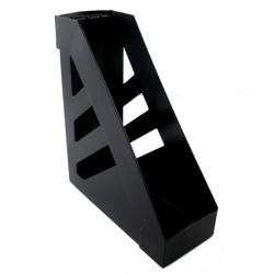 Лоток для бумаг вертикальный Стамм Ультра ЛТ02 черный