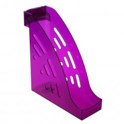 Лоток для бумаг вертикальный Стамм Торнадо ЛТ408 тонированный слива