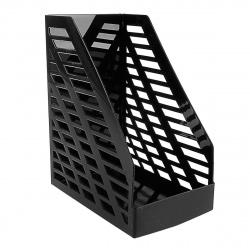 Лоток для бумаг вертикальный Стамм Stamm XXL ОФ333 черный