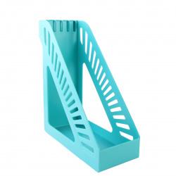 Лоток для бумаг вертикальный KLERK Стандарт ЛК-3170/211899 бирюза