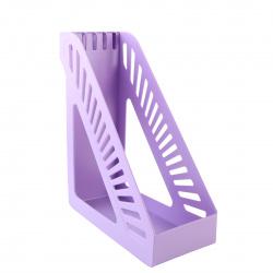 Лоток для бумаг вертикальный KLERK Стандарт ЛК-3168/211896 лаванда